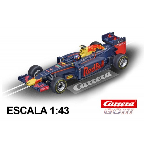 Coche Carrera Go Red Bull Racing RB12 Verstappen nº 33