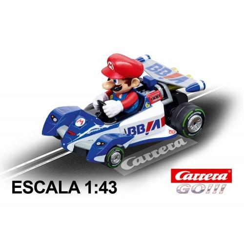 Coche Carrera Go Nintendo Mario Kart Especial Mario