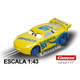 Coche Carrera Go Disney Cars 3 Dinoco Cruz