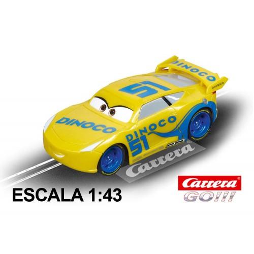 Race Car Go Disney Cars 3 Dinoco Cruz