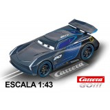 Coche Carrera Go Disney Cars 3 Jackson Storm