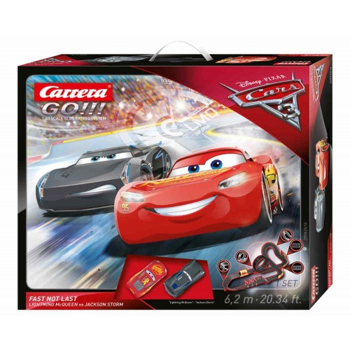 Circuito Carrera Go Disney Cars 3 Fast Not Last
