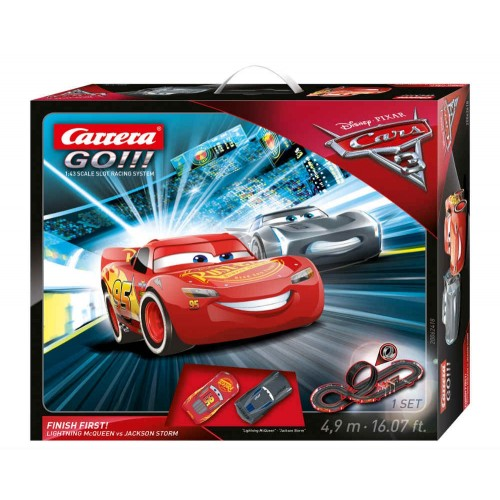 Circuito Carrera Go Disney Cars 3 Finish First