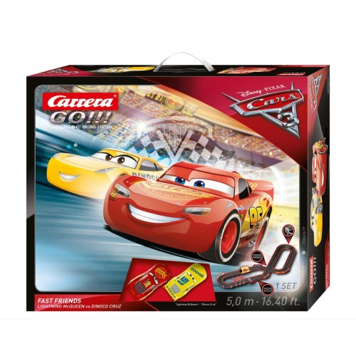 Circuito Carrera Go Disney Cars 3 Fast Friends
