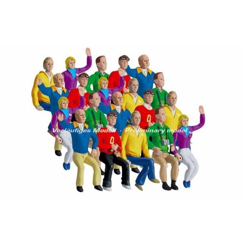 Decoração de figuras Tribuna de 20 figuras Carrera 132-124