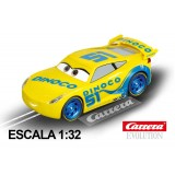 Coche Carrera Evolution Disney Cars 3 Dinoco Cruz