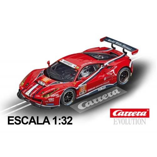 Coche Carrera Evolution Ferrari 488 GT3 Scuderia Corsa 68