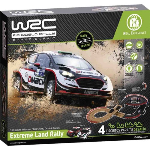 Circuito slot 1:43 WRC Extreme Land Rally