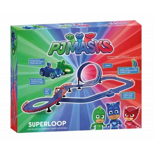 1:43 PJ Masks Super Loop slot circuit
