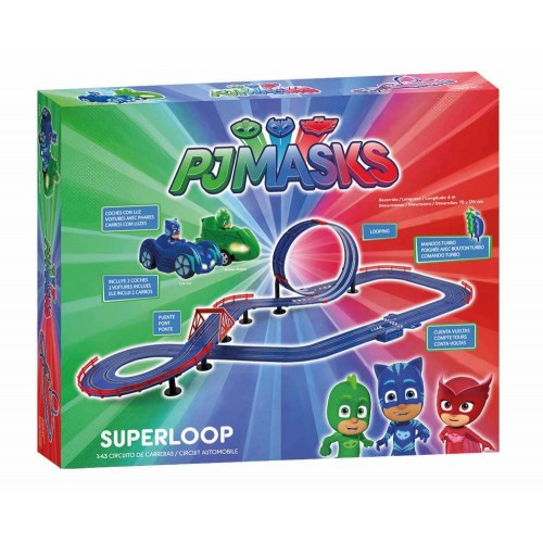 Circuito de slot 1:43 PJ Masks Super Loop