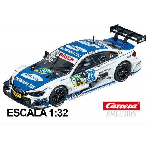 Coche Carrera Evolution BMW M4 DTM M Martin nº36