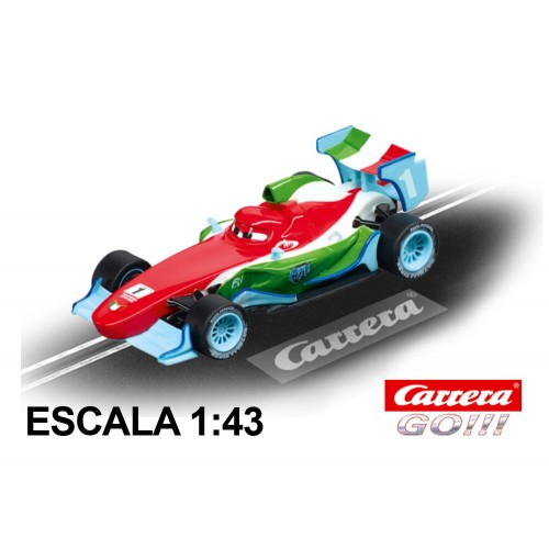 Coche Carrera Go Disney Pixar Cars Francesco Bernoulli Ice