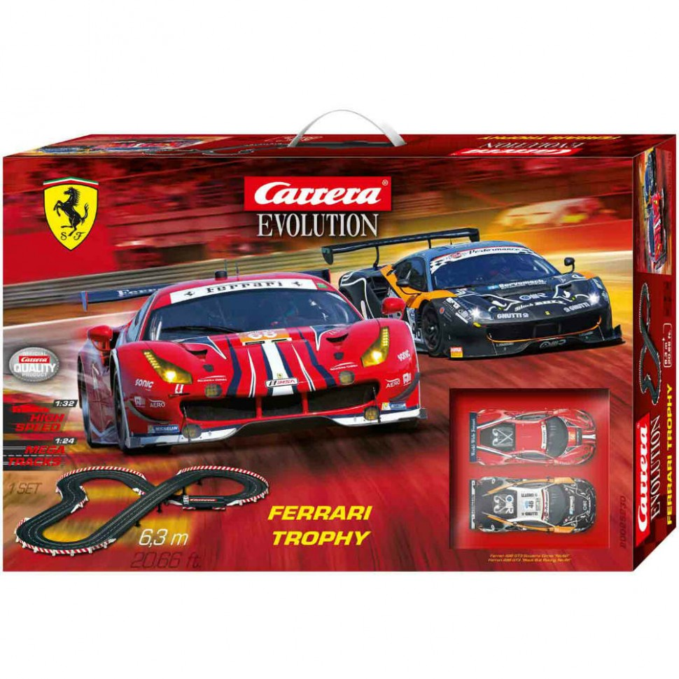 Circuito Carrera Evolution Ferrari Trophy