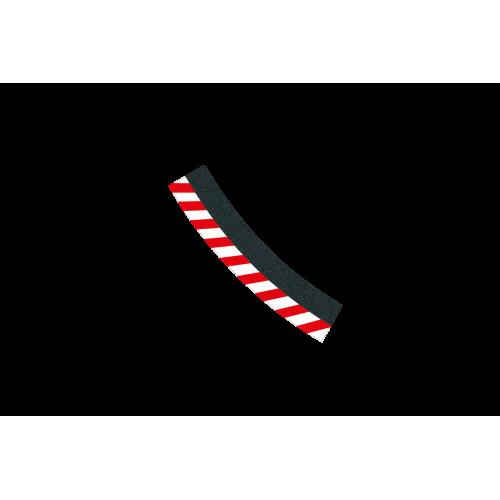Borda externa curva 3/30 6ud Carrera 132-124