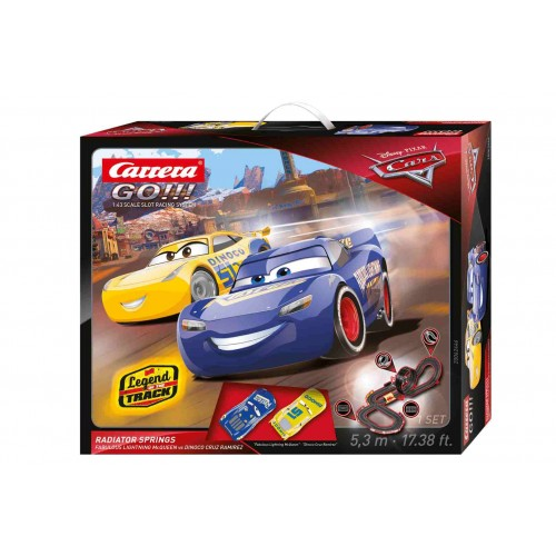 Circuito Carrera Go Disney Cars Radiators Springs
