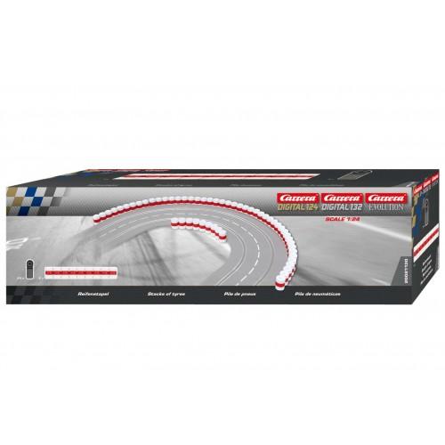 Barreira de pneus Carrera Evolution-Digital 132 track