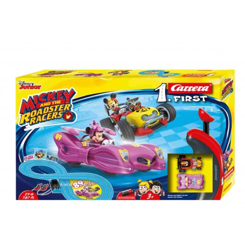 Circuito Carrera First Mickey and the Roadster Racers Minnie 2,4m