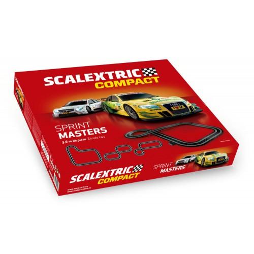 Circuito de Scalextric Compact Sprint Masters
