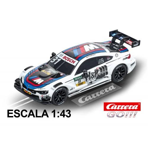 Carrera Go BMW M4 DTM Blomqvist, carro nº 31