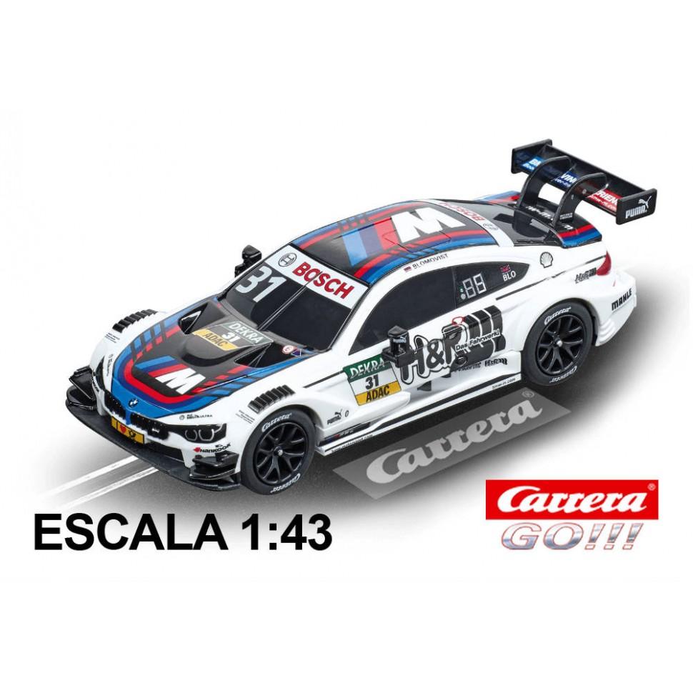 Coche Carrera Go BMW M4 DTM Blomqvist nº 31