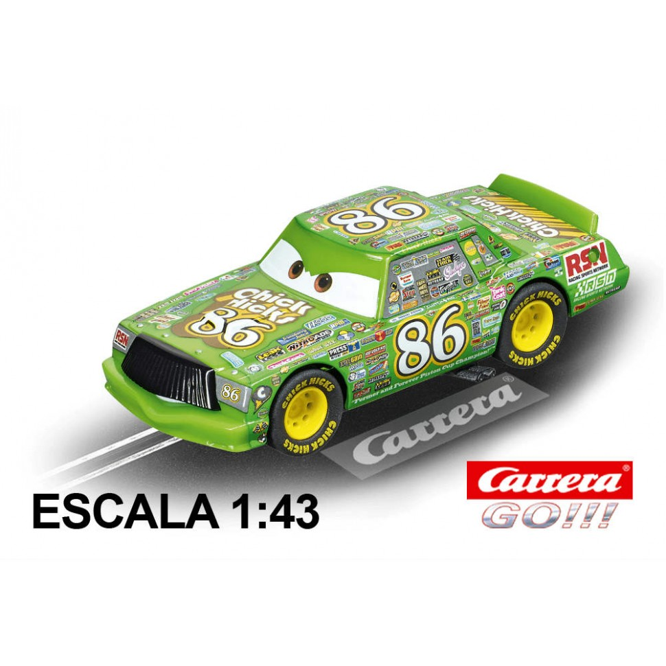 Coche Carrera Go Disney Cars 3 Chick Hicks
