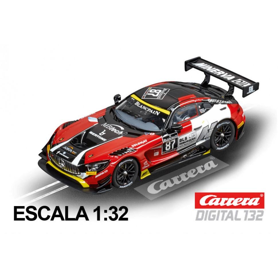 Coche Carrera Evolution Mercedes-AMG GT3 AKKA ASP nº87