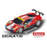 Coche Carrera Go Ferrari 488 GTE AF Corse nº71