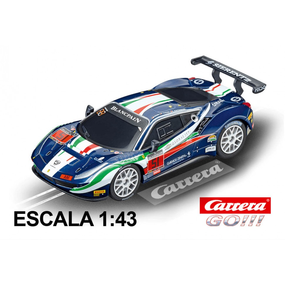 Coche Carrera Go Ferrari 488 GT3 AF Corse nº51
