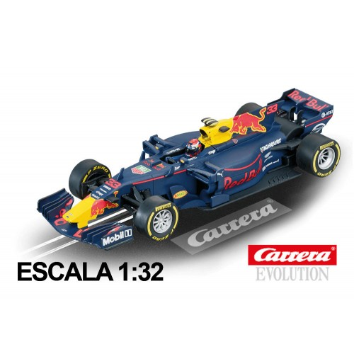 Coche Carrera Evolution Red Bull F1 Tag Heuer RB13 Verstappen