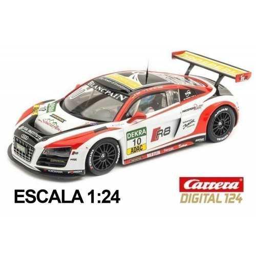 Coche Carrera Digital 124 Audi R8 LMS Prosperia C Abt Racing
