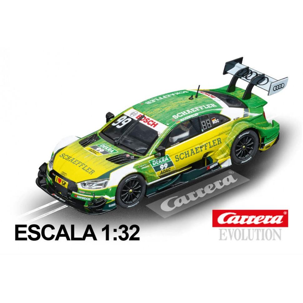 Coche Carrera Evolution Audi RS5 DTM Rockenfeller nº 99