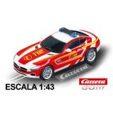 Coche Carrera Go Mercedes AMG GT Coupe Bomberos 112