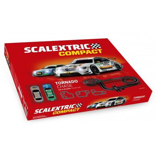 Circuito de Scalextric Compact Tornado Chase