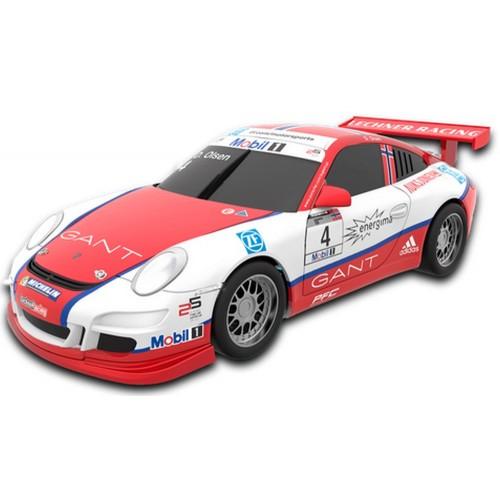 Coche de Scalextric Compact Porsche 911 GT3 Olsen