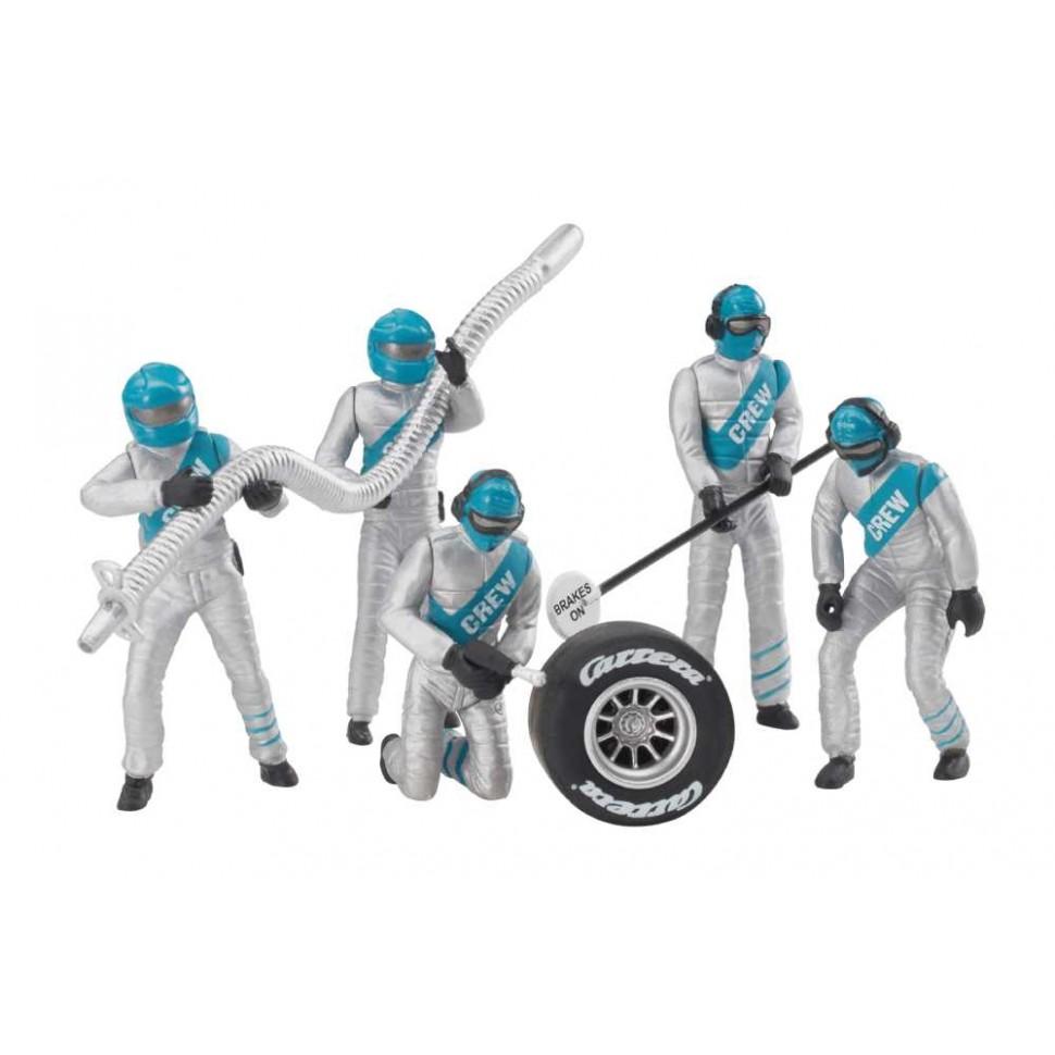 Figuras Decoracion Mecanicos plata 5ud Carrera 132-124