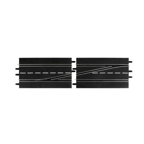 Pista cambio de carril izquierda Carrera Digital 132-124