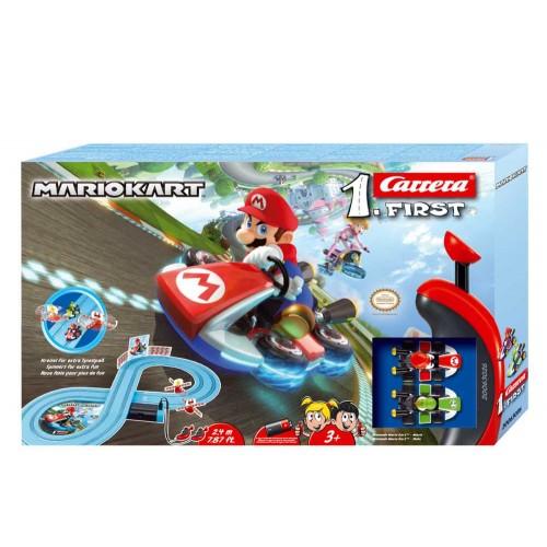 Primeiro circuito de corrida Nintendo Mario Kart