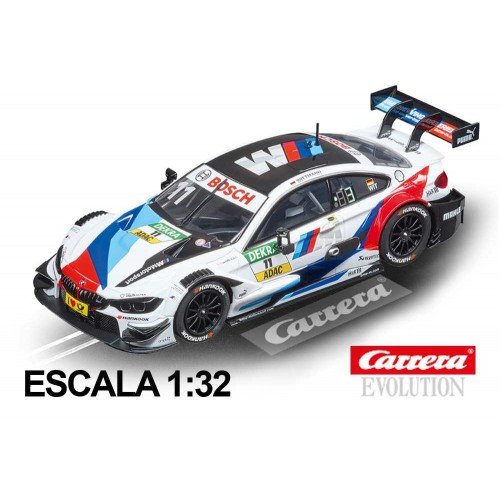 Coche Carrera Evolution BMW M4 DTM Wittmann nº11