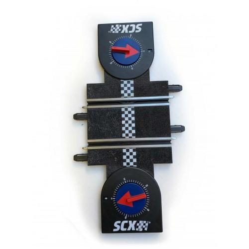 Pista cuenta vueltas mecanico Scalextric Compact
