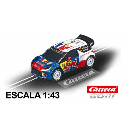 Race Car Go Citroen DS3 WRC Lefebvre