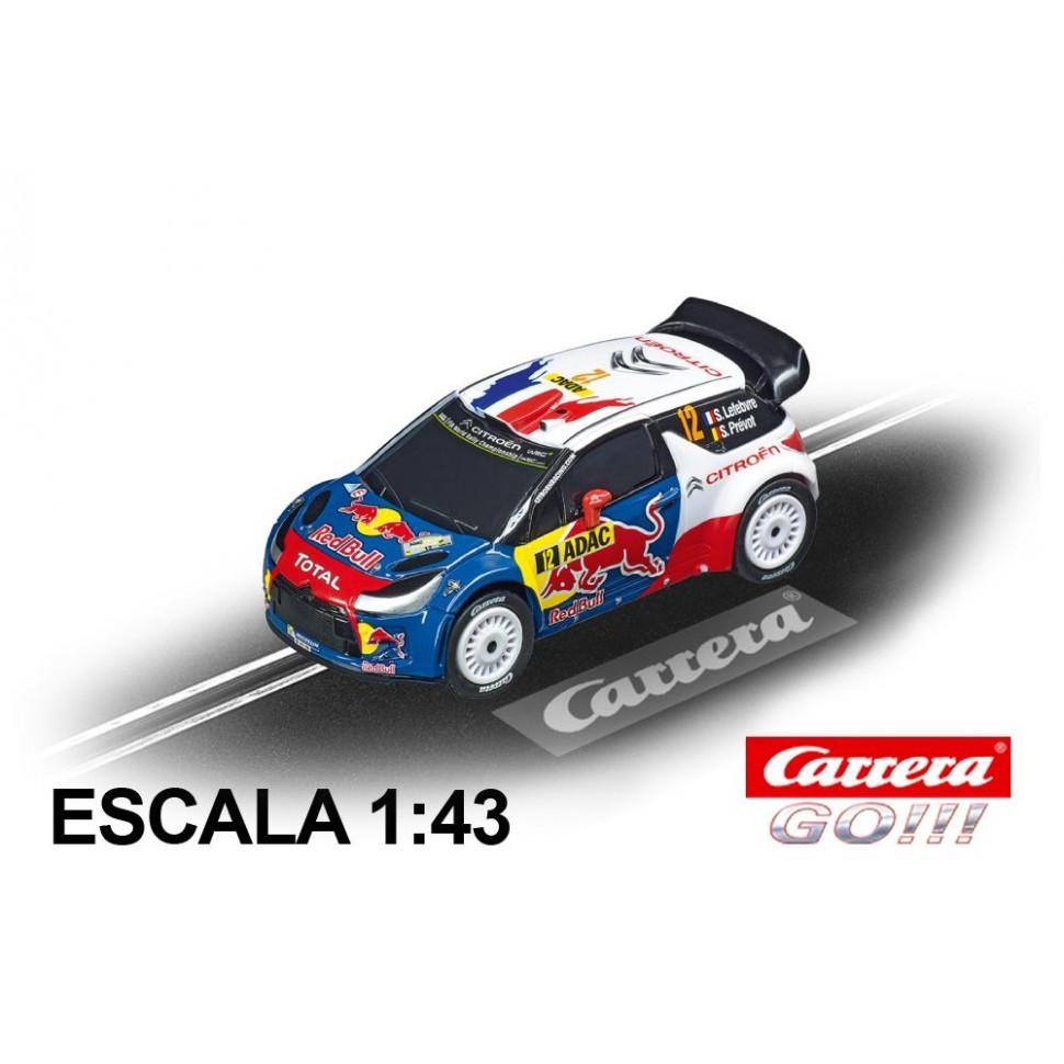 Coche Carrera Go Citroen DS3 WRC Lefebvre