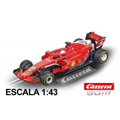 Carro de corrida Ferrari SF71-H Vettel da Go Ferrari