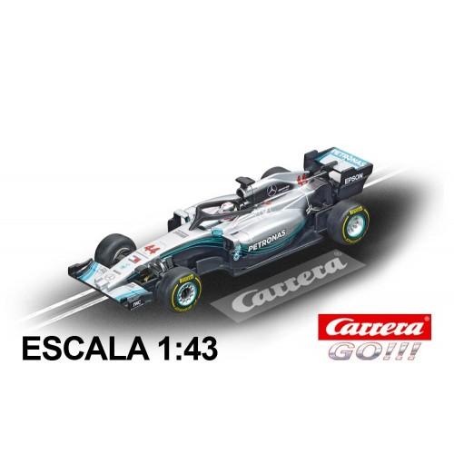 Carro Carrera Go Mercedes AMG F1 W09 EQ Hamilton n44