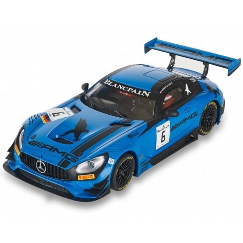 Carro analógico Scalextric Mercedes AMG GT3 Black Falcon