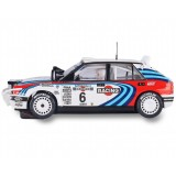 Coche de Scalextric Analogico Lancia Delta Integrale Rally Safari