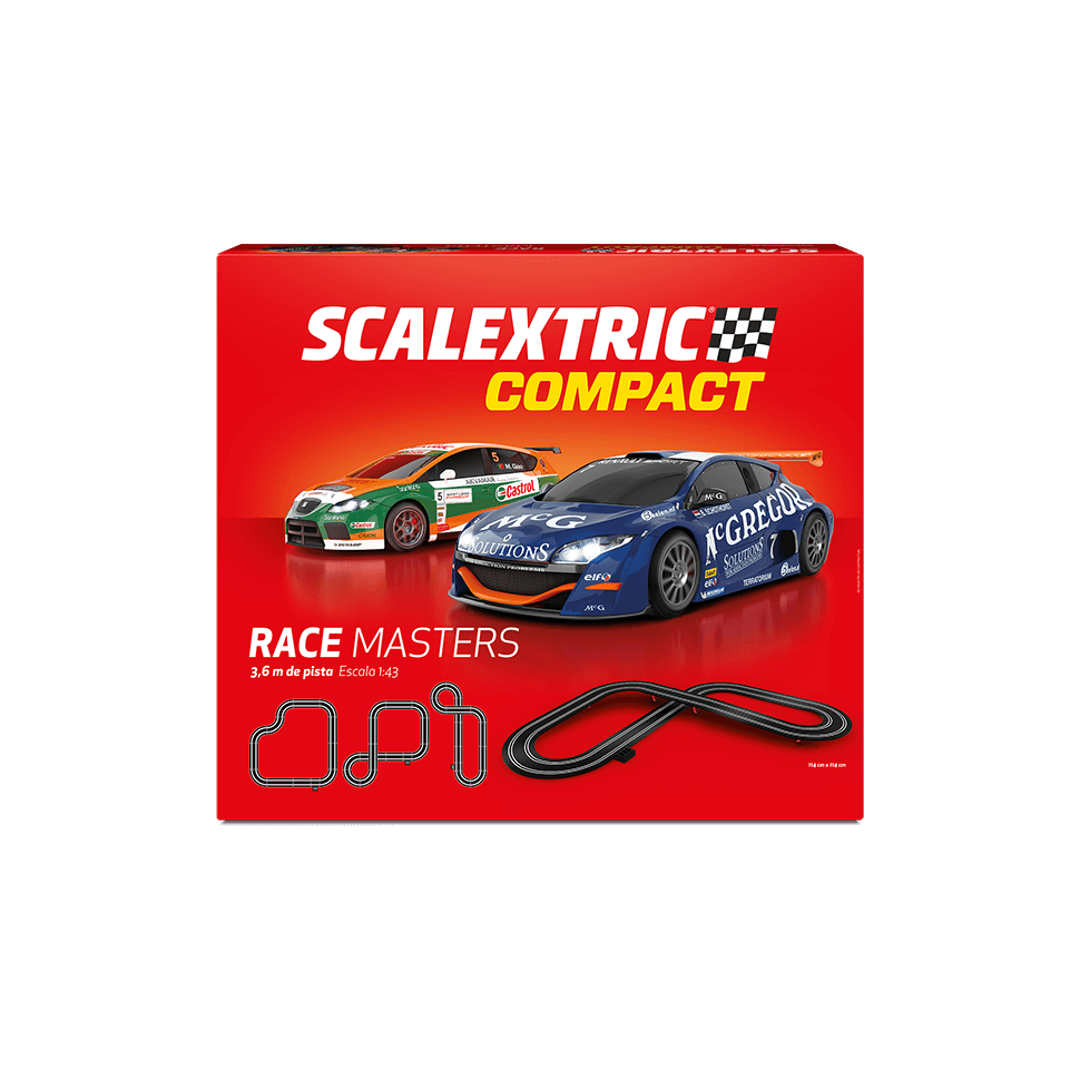 Circuito de Scalextric Compact Race Masters