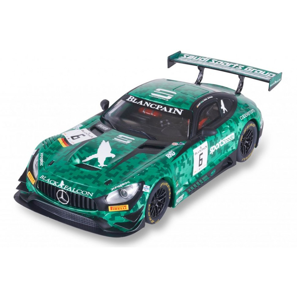 Coche de Scalextric Digital Advance Mercedes AMG GT3 Sports Code