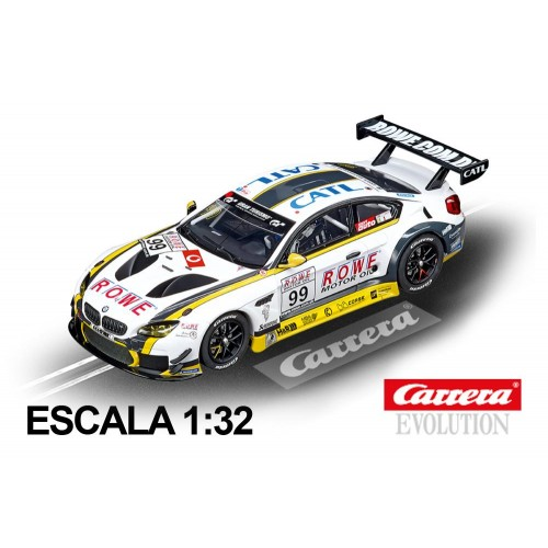 Coche Carrera Evolution BMW M6 GT3 Rowe Racing n99