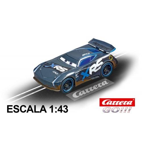 Go Disney Cars Jackson Storm Mud Racers Race Car