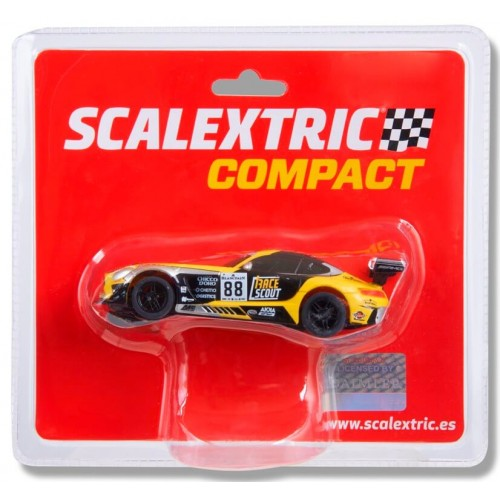 Coche de Scalextric Compact Mercedes AMG GT3 Race Scout